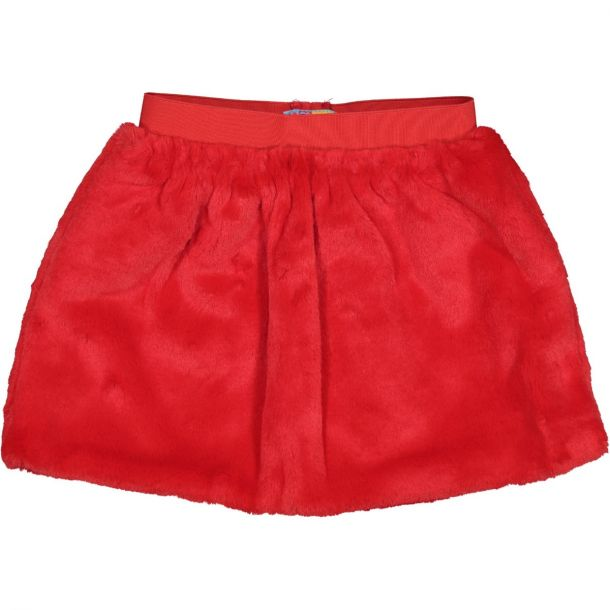 Girls 'feliz' Faux Fur Skirt
