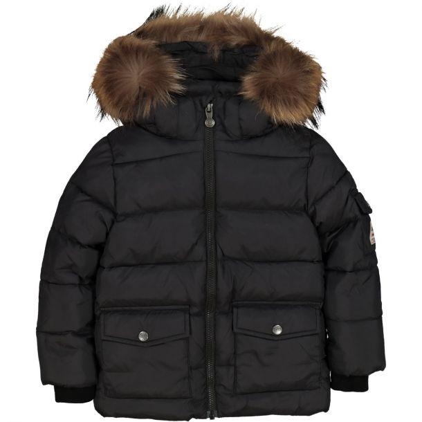 Boys Authentic Black Down Jacket