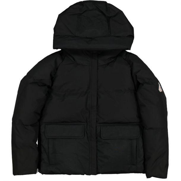 Girls Elia Black Down Jacket