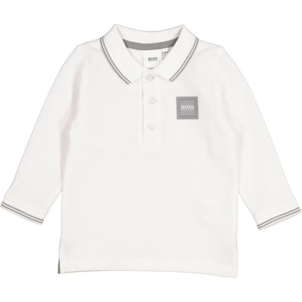 Baby Boys White Polo