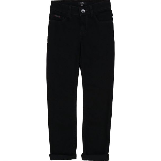 Boys Black Slim Fit Jeans