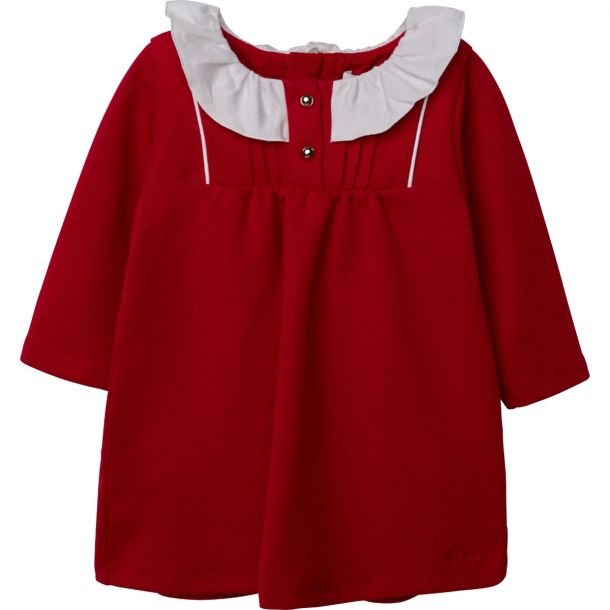 Baby Girls Chloe Red Jersey Dress