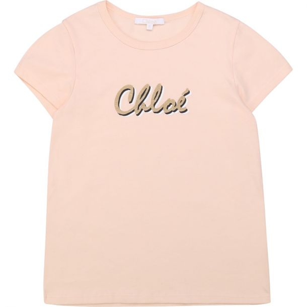 Girls Pink Logo T-shirt