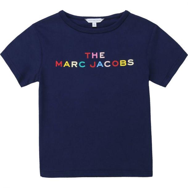 Girls Navy Logo T-shirt