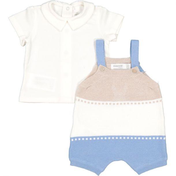 Baby Boys Knit Shortie Set