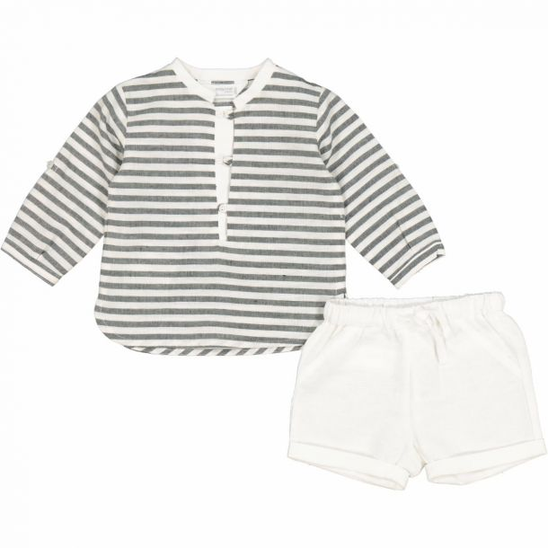 Baby Boys Shirt & Short Set