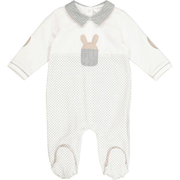 Baby Boys Bunny Romper