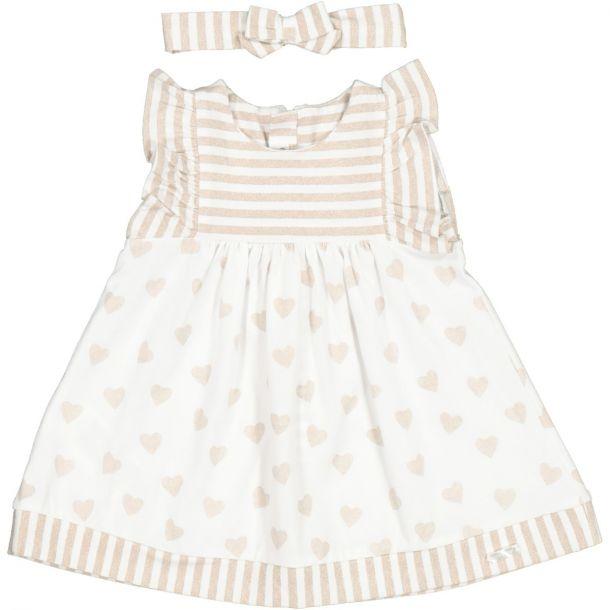 Baby Girls Hearts Jersey Dress