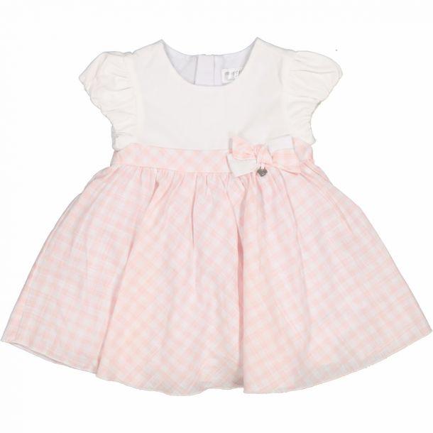 Baby Girls Gingham Print Dress