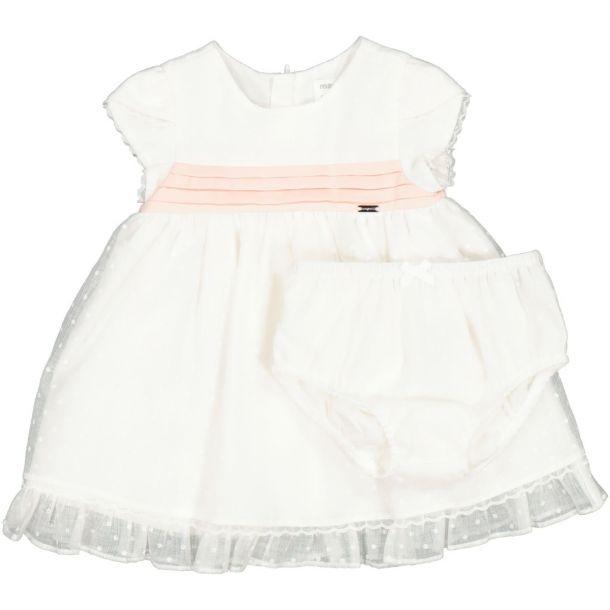 Baby Girls Ivory Dress Set