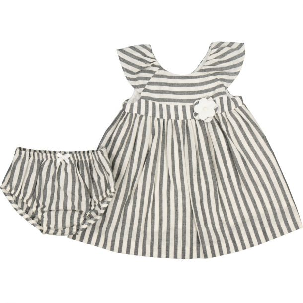 Baby Girls Stripe Dress Set