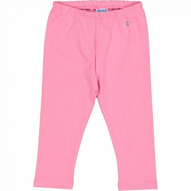 Baby Girls Pink Jersey Leggings