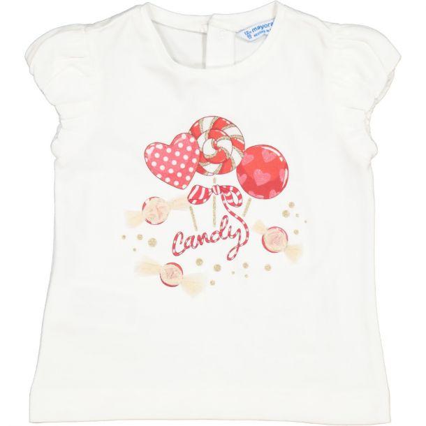 Girls Candy Print T-shirt