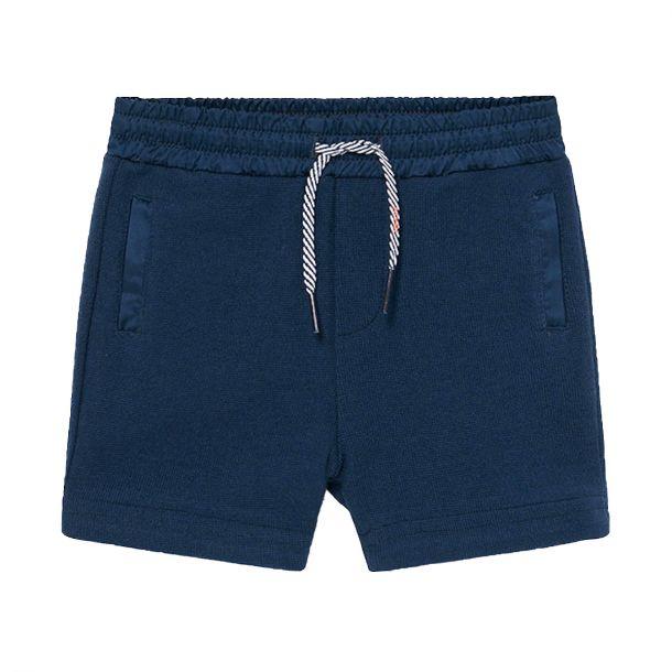 Boys Navy Jersey Shorts