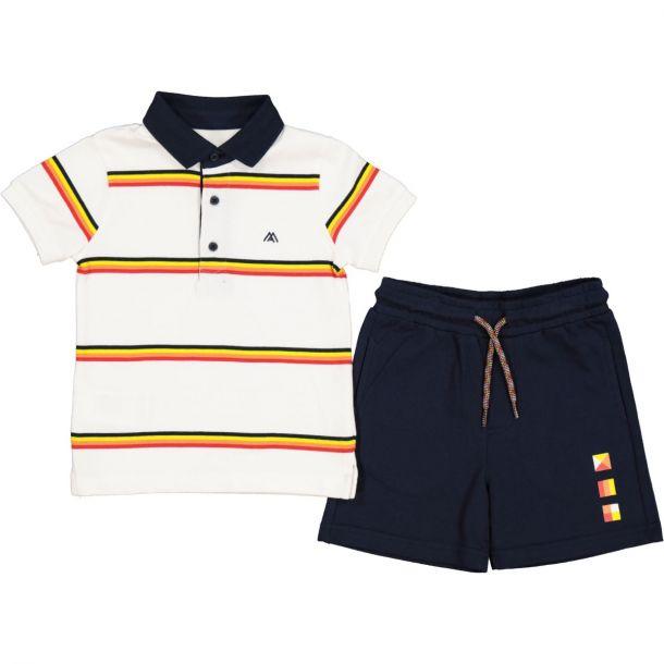 Boys Polo Top & Short Set