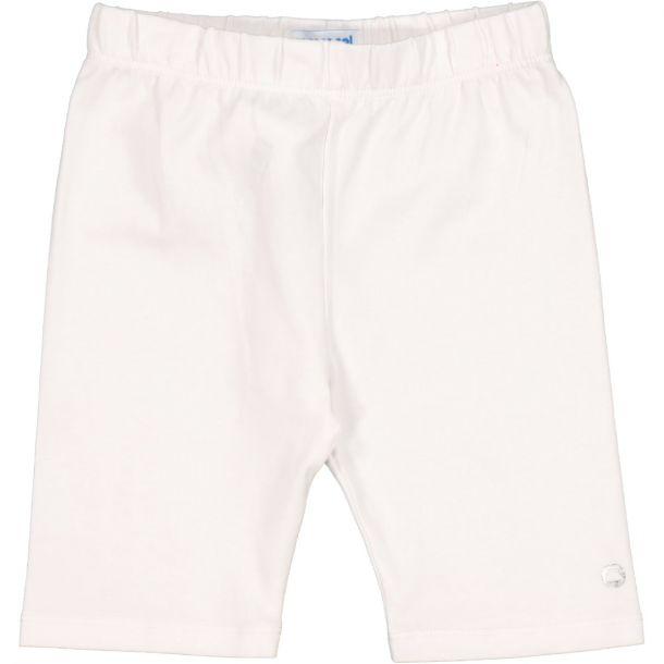 Girls White Cycle Shorts
