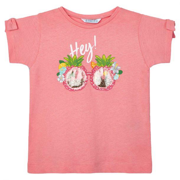 Girls Pink Sunglasses T-shirt