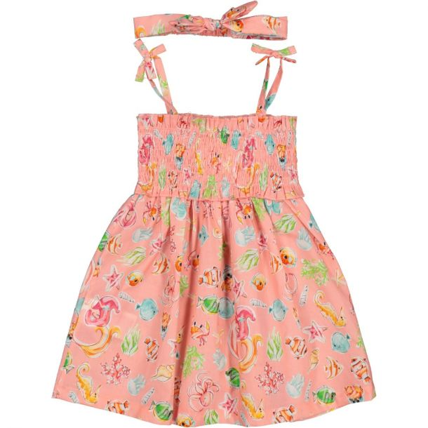 Girls Smocked Sun Dress