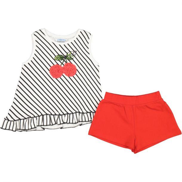 Girls Cotton Short Set