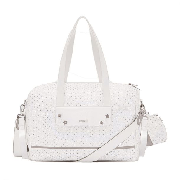 White Baby Changing Bag