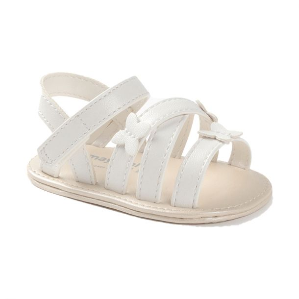 Baby White Butterfly Sandals