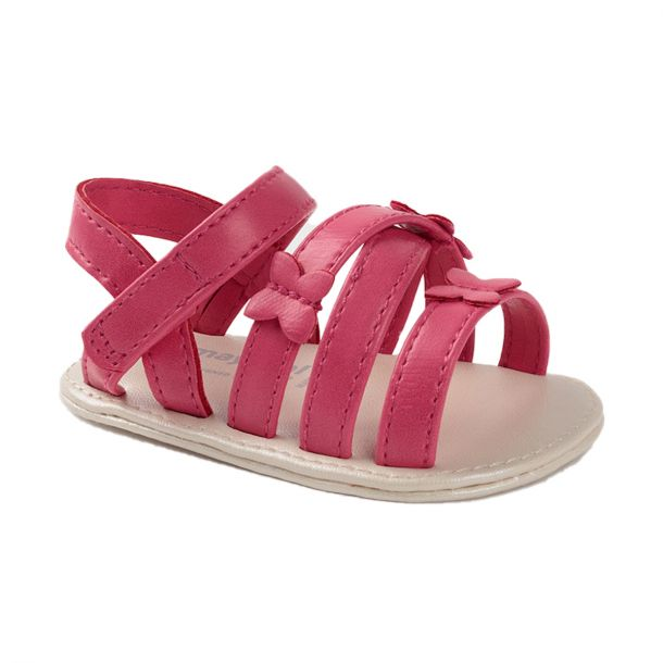 Baby Pink Butterfly Sandals