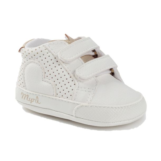 Baby White Trainers