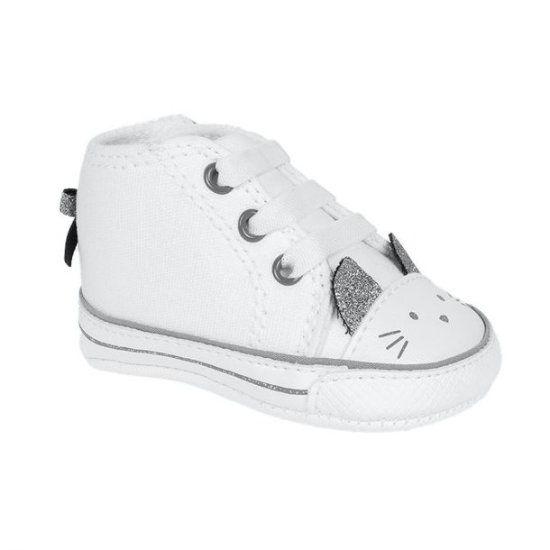 Baby Kitty White Trainers