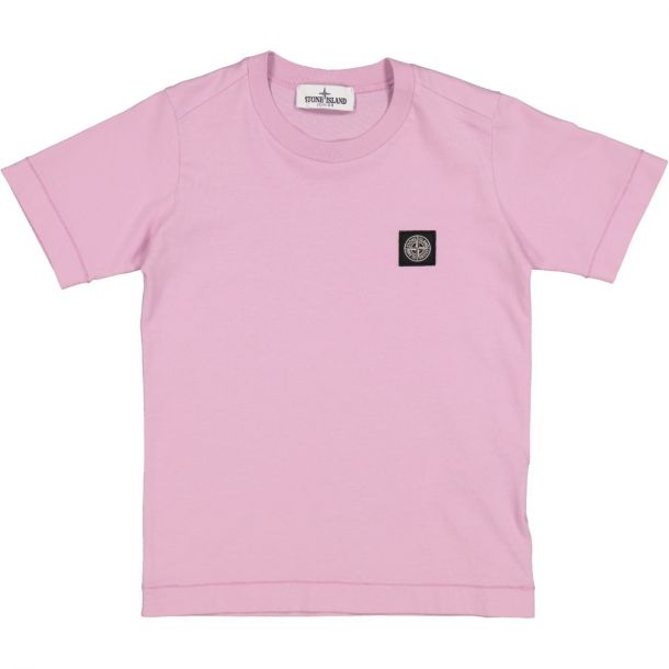 Boys Pink Badge T-shirt
