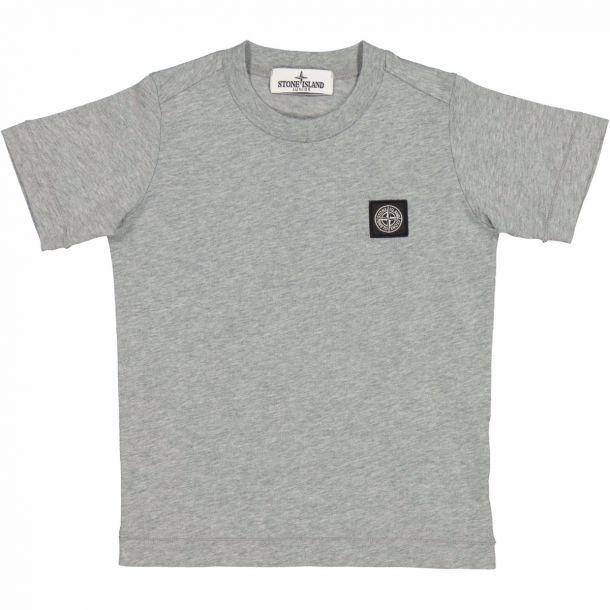Boys Grey Badge T-shirt