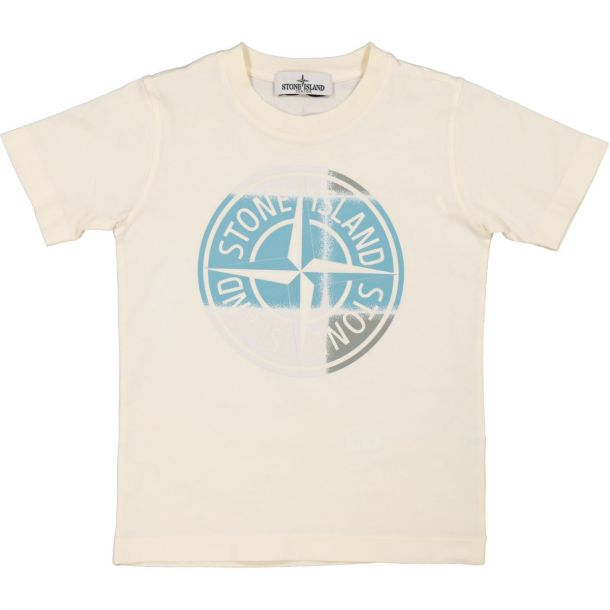 Boys Beige Compass T-shirt