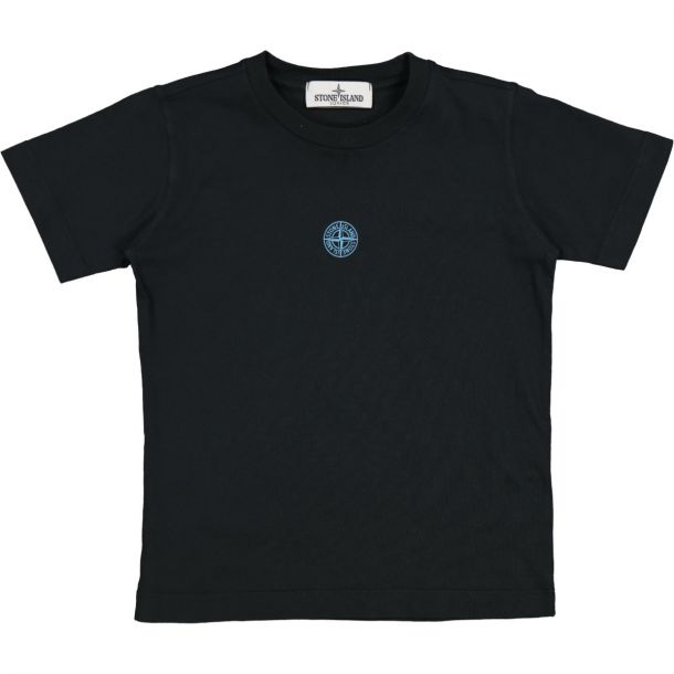 Boys Neon Logo Black T-shirt