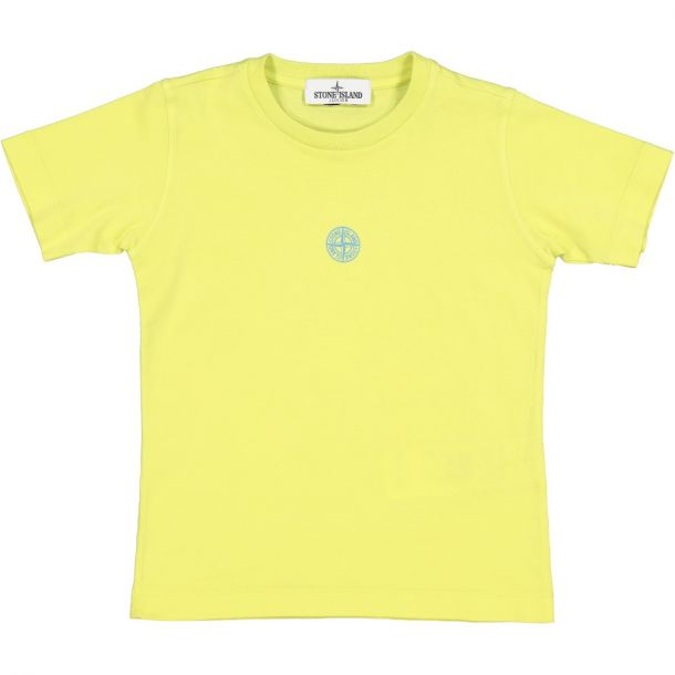 Boys Neon Logo Yellow T-shirt