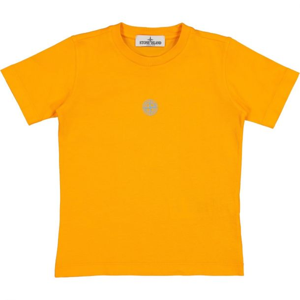 Boys Neon Logo Orange T-shirt