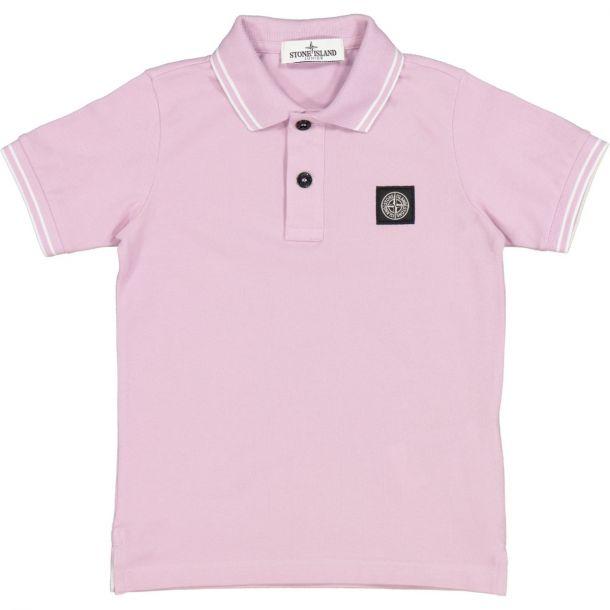 Boys Pink Polo Top