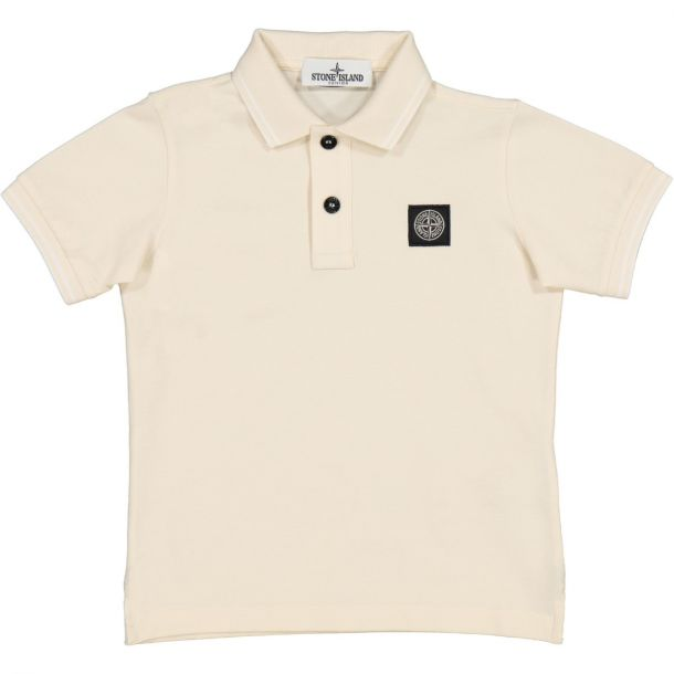Boys Beige Polo Top