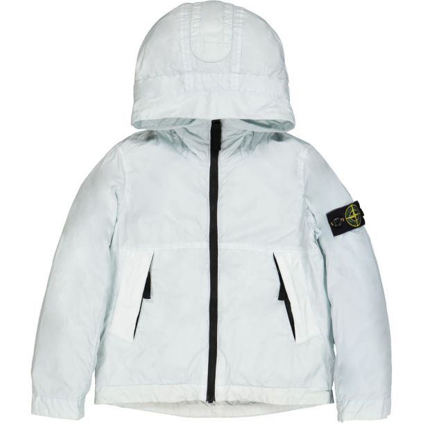 Boys Blue Hooded Jacket