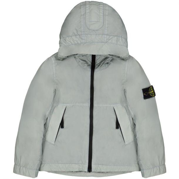 Boys Grey Hooded Jacket