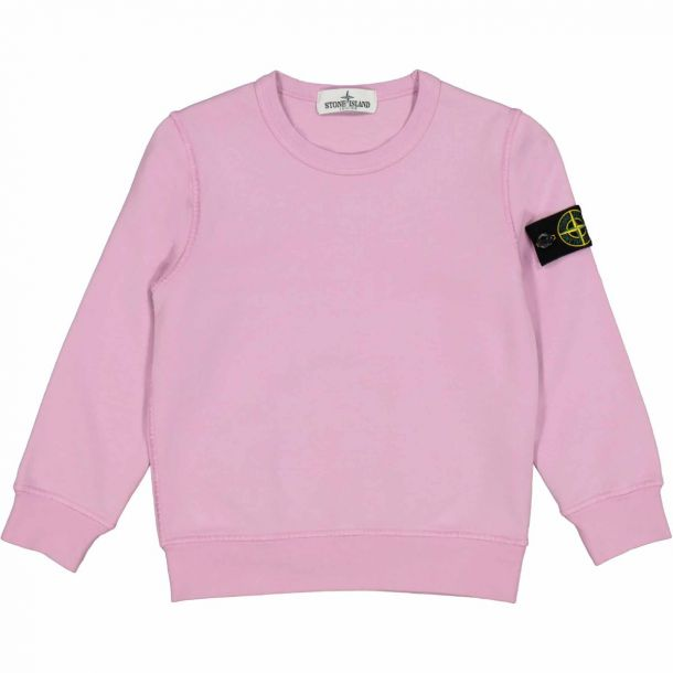 Boys Pink Badge Sweatshirt