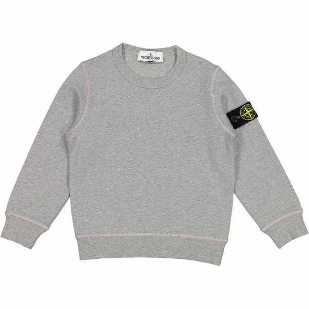 Boys Grey Badge Sweatshirt
