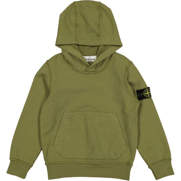 Boys Khaki Hooded Sweatshirt