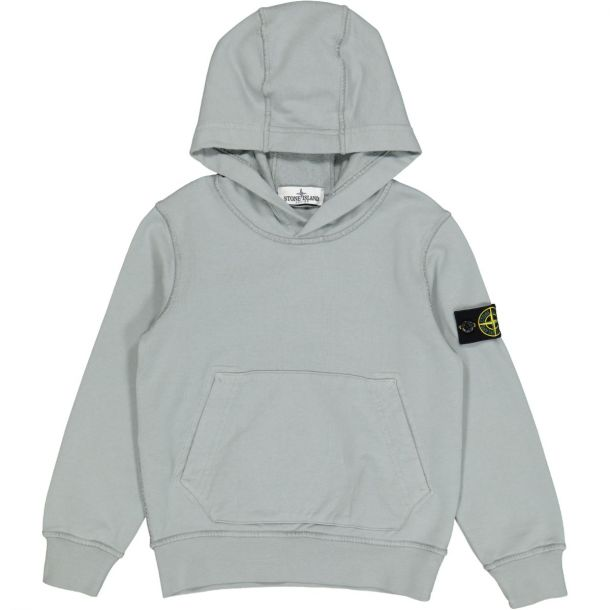 Boys Grey Hooded sweat with Badge
