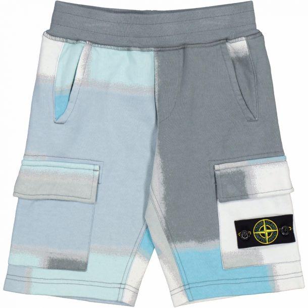 Boys Colour Block Shorts