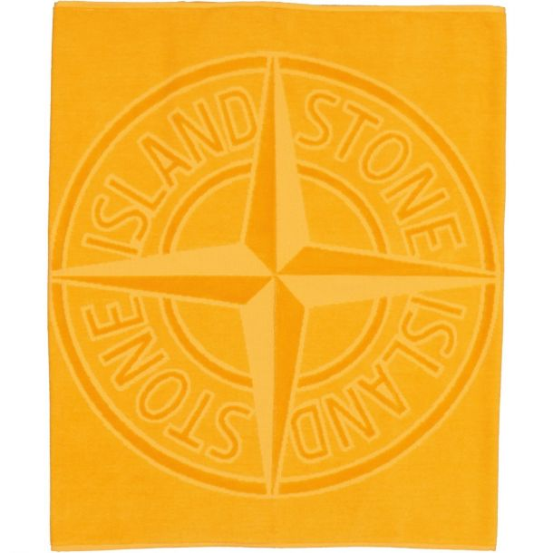 Boys Orange Branded Towel