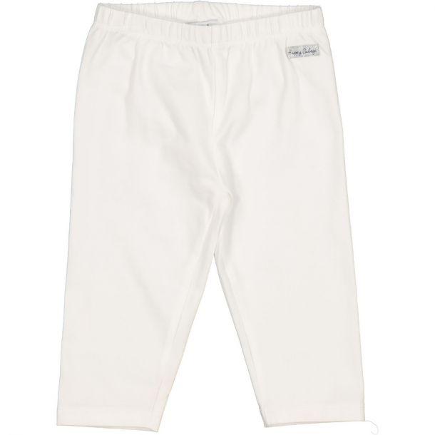 Girls White Capri Legging