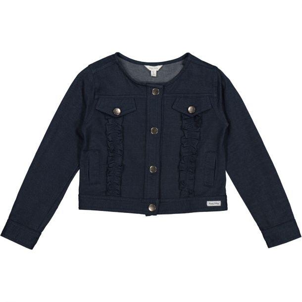 Girls Sally Navy Jacket