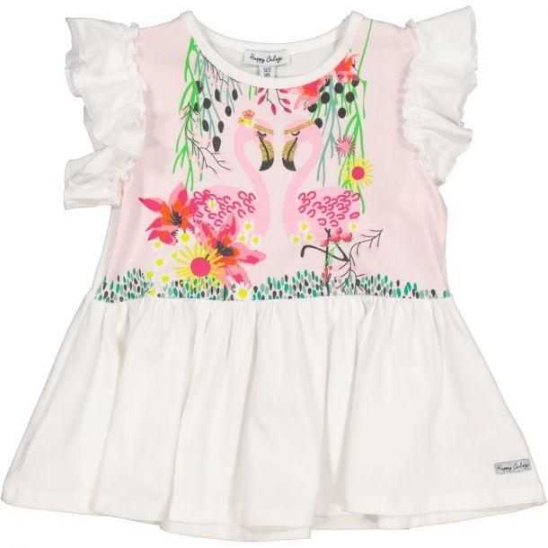 Girls Pearl Flamingo Tunic