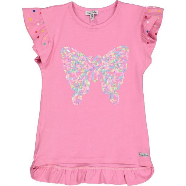 Girls Maya Butterfly Tunic Top