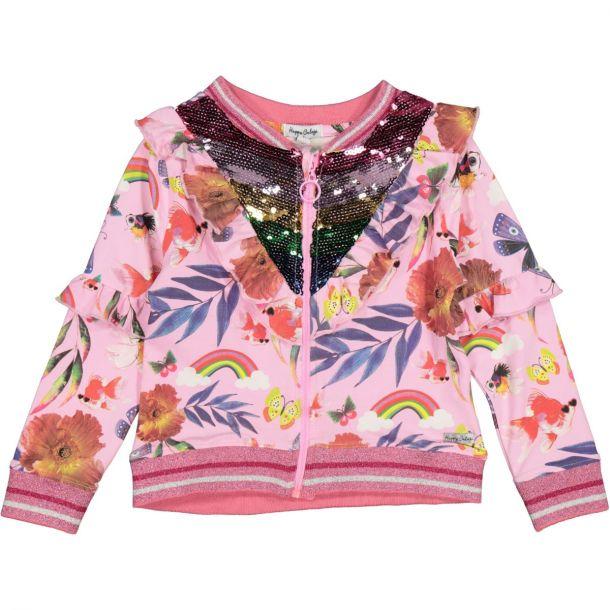 Girls Maya Jersey Zip Up