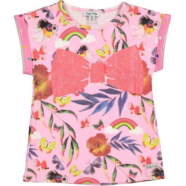 Girls Maya Bow T-shirt